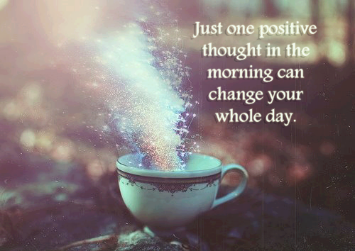 ready to change - positive thoughts