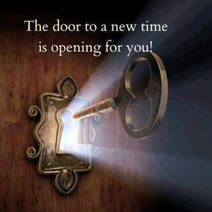 create a successful business - the door is opening