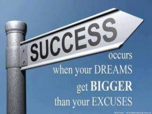 successful business - bigger than excuses