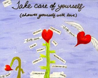 self love hearts